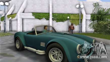 Shelby Cobra para GTA Vice City