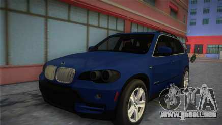 BMW X5 2009 para GTA Vice City