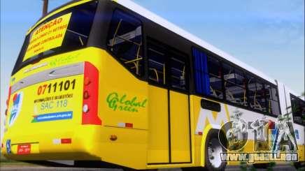 Прицеп Neobus Mega BHNS Volvo B12-340M para GTA San Andreas
