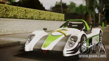 Radical SR8 Supersport 2010 para GTA San Andreas