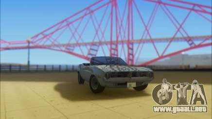 Plymouth Cuda 1970 Stock para GTA San Andreas