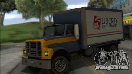 GTA IV Yankee para GTA San Andreas
