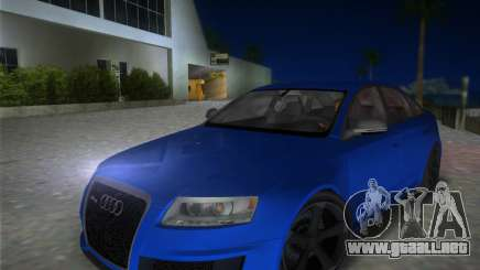 Audi RS6 para GTA Vice City