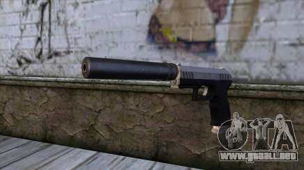 Silenced Combat Pistol from GTA 5 para GTA San Andreas