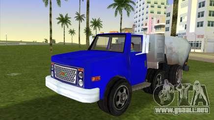 El nuevo camión de la basura Beta para GTA Vice City