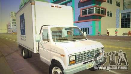 Ford E-350 1988 Cube Truck para GTA Vice City