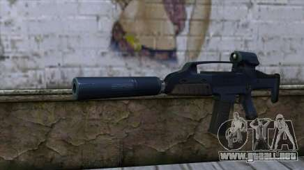 XM8 Compact Blue para GTA San Andreas