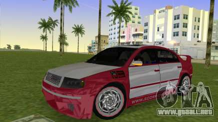 Skoda Superb Tuned para GTA Vice City