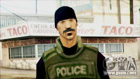 SWAT from Beta Version para GTA San Andreas tercera pantalla