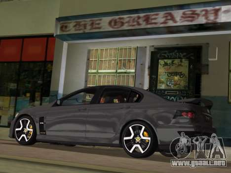 Holden HSV GTS 2011 para las ruedas de GTA Vice City