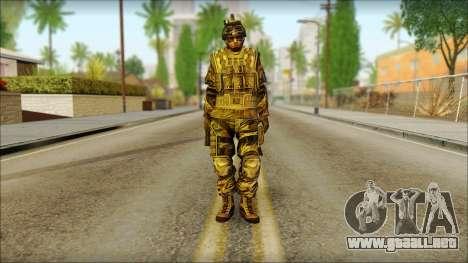 Los soldados de la UE (AVA) v5 para GTA San Andreas