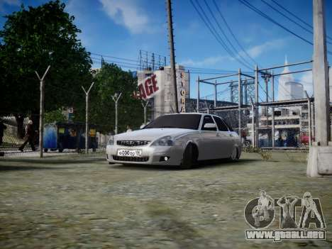 VAZ 2172 para GTA 4 left