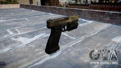 Pistola Glock 20 tac, au para GTA 4 segundos de pantalla