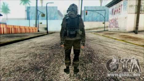 Los soldados aerotransportados (CoD: MW2) v2 para GTA San Andreas segunda pantalla