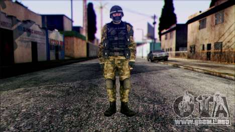 Soldier from Prototype 2 para GTA San Andreas