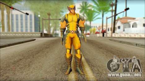 Wolverine Deadpool The Game Cable para GTA San Andreas
