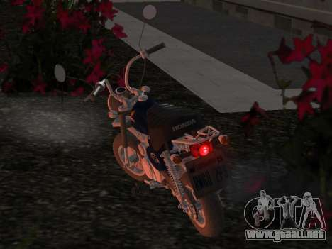 Honda Z50J Monkey para vista lateral GTA San Andreas