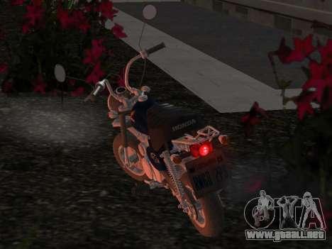 Honda Z50J Monkey para vista lateral GTA San Andreas