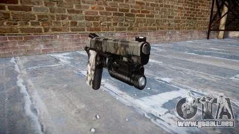 Pistola De Kimber 1911 Ghotex para GTA 4