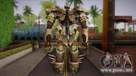 Grimlock v2 para GTA San Andreas segunda pantalla