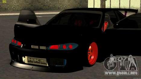 Nissan Silvia S14 para visión interna GTA San Andreas