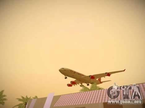 Airbus A340-300 Virgin Atlantic para el motor de GTA San Andreas