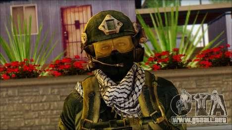 Combatiente de la OGA (MoHW) v2 para GTA San Andreas tercera pantalla