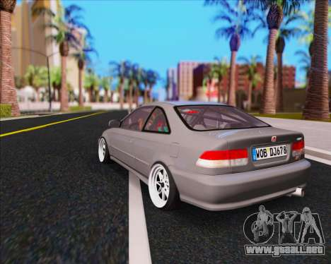 Honda Civic EM1 V2 para GTA San Andreas left