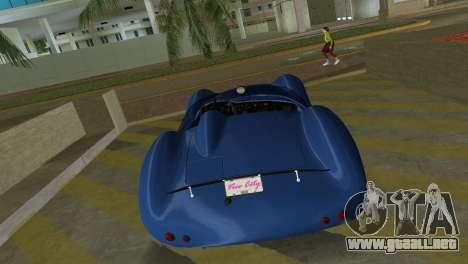 Aston Martin DBR1 para GTA Vice City vista posterior