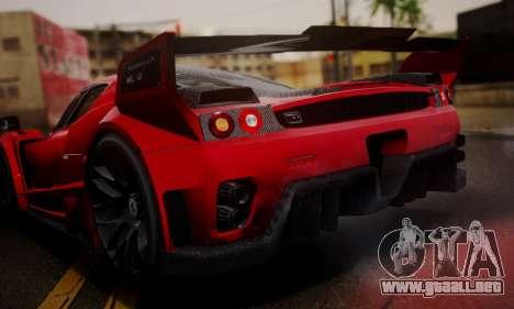 Ferrari Gemballa MIG-U1 para visión interna GTA San Andreas