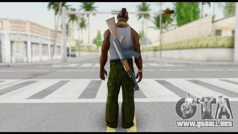 MR T Skin v6 para GTA San Andreas segunda pantalla