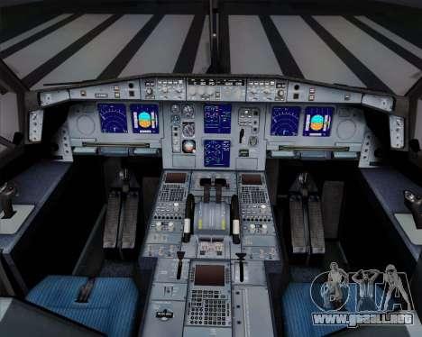 Airbus A340-311 Turkish Airlines (Star Alliance) para vista inferior GTA San Andreas