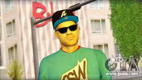Superstar para GTA San Andreas tercera pantalla