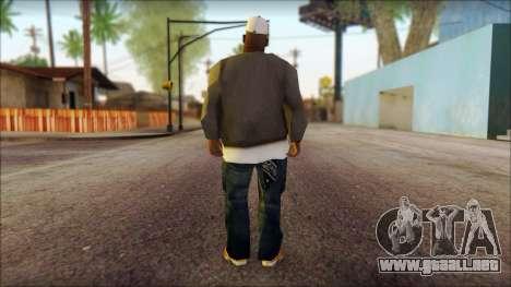 Afro - Seville Playaz Settlement Skin v3 para GTA San Andreas segunda pantalla