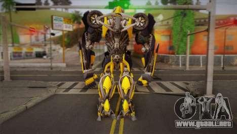 Bumblebee v1 para GTA San Andreas segunda pantalla