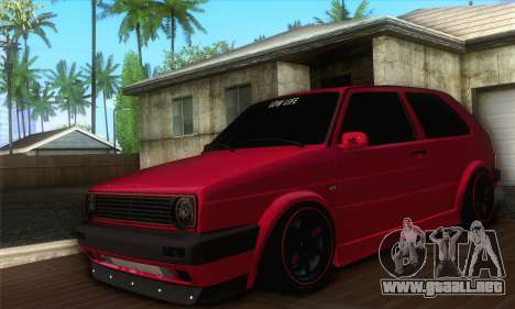 Volkswagen Golf Mk2 Low Life para GTA San Andreas