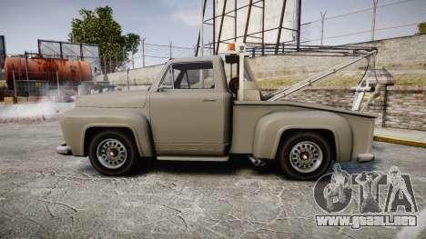 Vapid Tow Truck Jackrabbit para GTA 4 left