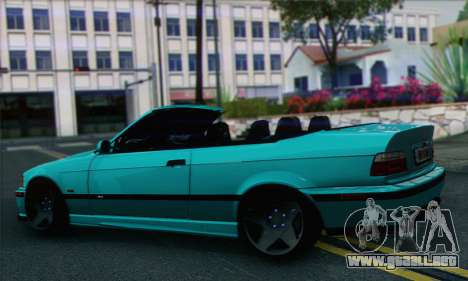 BMW 3-series Cabrio para GTA San Andreas left