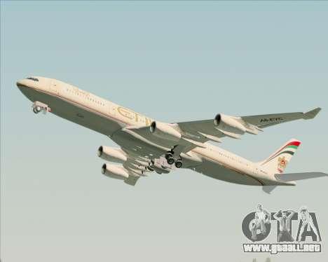 Airbus A340-313 Etihad Airways para el motor de GTA San Andreas