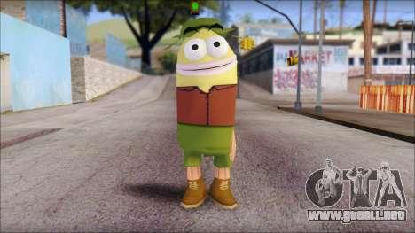 Campguy from Sponge Bob para GTA San Andreas