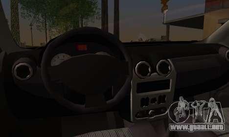 Dacia Logan Sedan Tuned para GTA San Andreas vista posterior izquierda