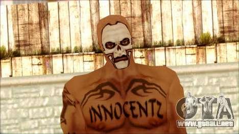 Manhunt Ped 5 para GTA San Andreas tercera pantalla