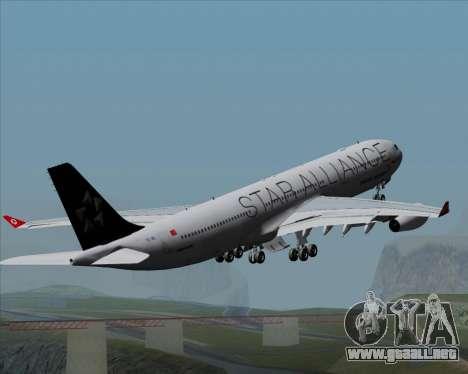 Airbus A340-311 Turkish Airlines (Star Alliance) para el motor de GTA San Andreas