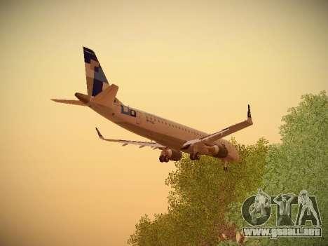 Embraer E190 TRIP Linhas Aereas Brasileira para GTA San Andreas interior