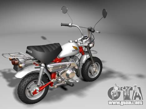 Honda Z50J Monkey para la visión correcta GTA San Andreas