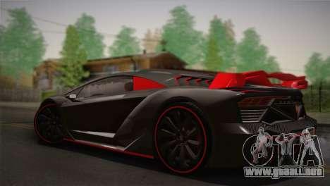 GTA 5 Zentorno (IVF) para GTA San Andreas left