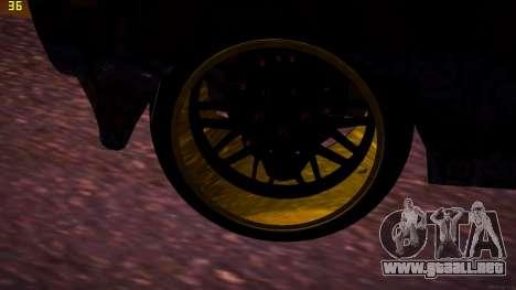 VAZ 2105 Deriva para la visión correcta GTA San Andreas