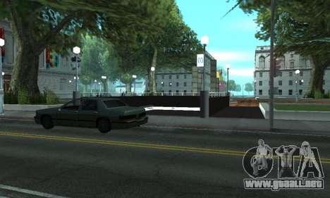 Una nueva estación de metro en San Fierro para GTA San Andreas tercera pantalla