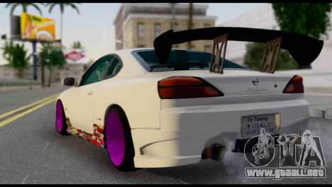 Nissan Silva S15 Turkish Drift para GTA San Andreas left