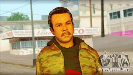 GTA 5 Ped 9 para GTA San Andreas tercera pantalla